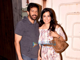 Kabir Khan, Mini Mathur, Roshni Chopra and others at the screening of 'Ajji'