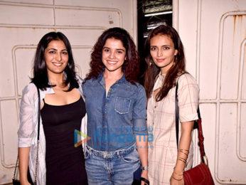 Kabir Khan, Mini Mathur, Roshni Chopra and others at the screening of 'Ajji'