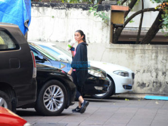 Alia Bhatt spotted after her gym session