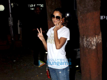Amrita Arora snapped at salon