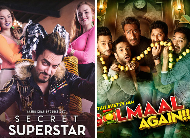 As Secret Superstar, Golmaal Again get 'UA', sources at CBFC say Aamir is the clear winner