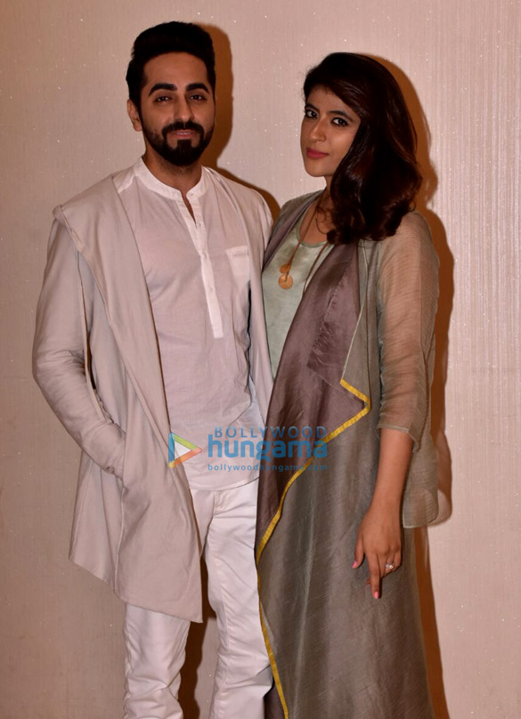 Ayushmann Khurrana snapped with his wife Tahira Kashyap