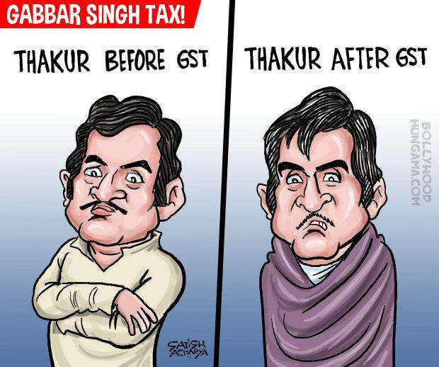 Bollywood Toons Gabbar Singh Tax!