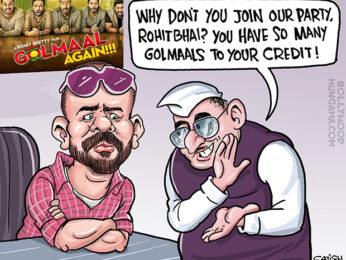 Bollywood Toons Golmaal Again, this Diwali!