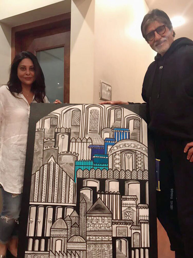 Check out Shefali Shah's special gift to