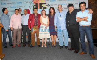 David Dhawan, Viveck Vaswani, Ratan Jain, Rahul Rawail at at '11th Locations Exhibition Conference'