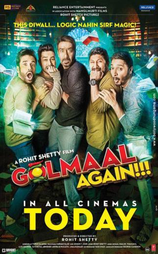 First Look Of Golmaal Again