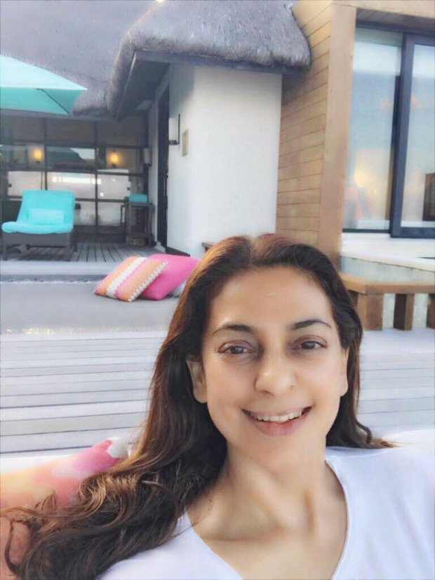 Here's how Juhi Chawla's Maldives vacation turned out to be a detox trip1