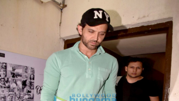 Hrithik Roshan and Sussanne Khan snapped with kids at PVR Juhu