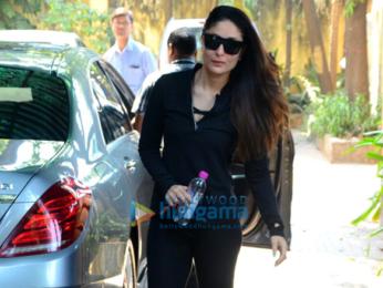 Kareena Kapoor Khan snapped outside her gym