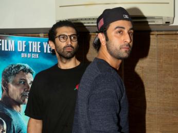 Ranbir Kapoor, Sidharth Malhotra, Aditya Roy Kapur, Arjun Kapoor, Imran Khan at special screening of 'Blade Runner 2049'