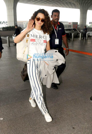 Kangana Ranaut, Farhan Akhtar and others snapped at the airport