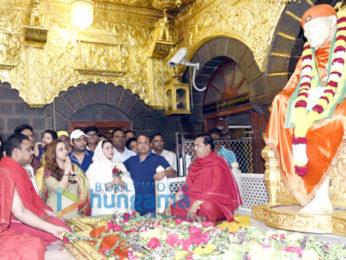 Kapil Sharma visits Shirdi Sai Baba Temple along with Ginni and 'Firangi' director Rajiev Dhingra