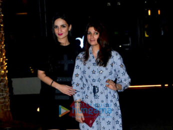 Karan Johar and Twinkle Khanna snapped outside Yauatcha
