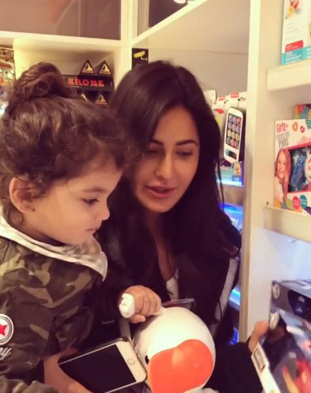 Katrina Kaif goes toy shopping with a cute toddler