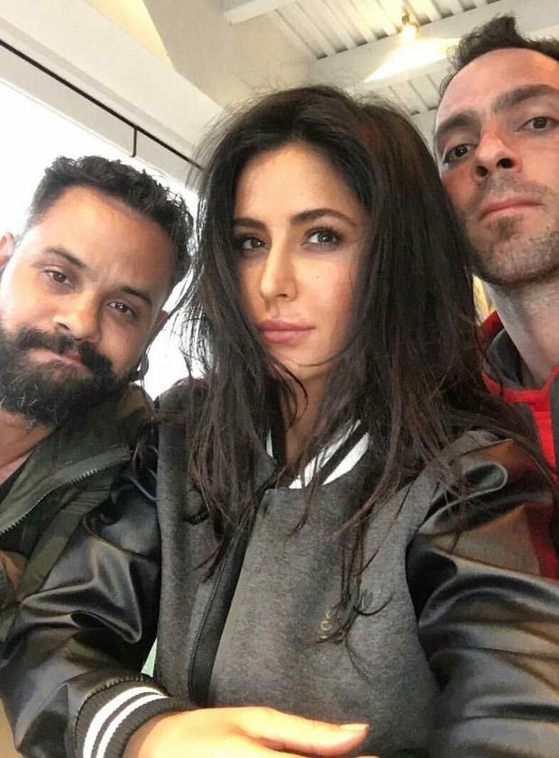 LEAKED PHOTOS Katrina Kaif shoots for song for Tiger Zinda