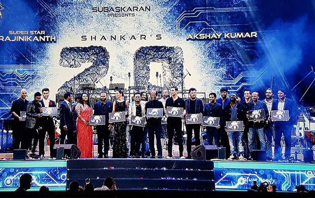 MEGA EVENT – Rajinikanth, Akshay Kumar and others launch the audio of 2.0 with much fanfare