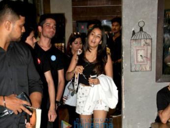 Mira Rajput spotted at Hakim Aalim in Bandra