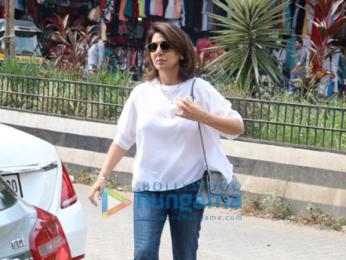 Neetu Kapoor spotted at Bastian