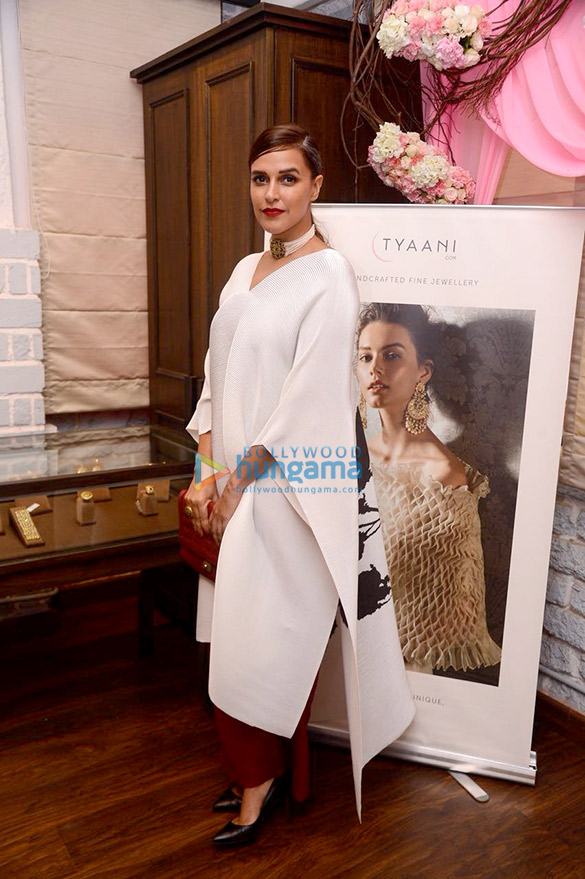 Neha Dhupia launches new collection of 'Tyaani' jewellery