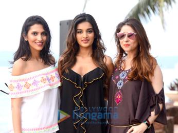 Nidhhi Agerwal walks the ramp at the 'India Beach Fashion Week 2017'