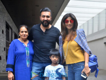 Raj Kundra and Shilpa Shetty enjoy lunch at Hakkasan in Bandra