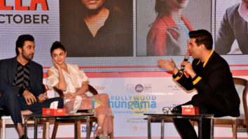 Ranbir Kapoor, Alia Bhatt and Karan Johar at 'Jio MAMI Movie Mela 2017'