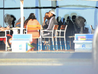 Ranveer Singh chills at Otters Club after gym session