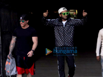 Ranveer Singh snapped in a fun mood in Mumbai
