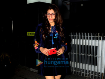 Raveena Tandon spotted with family at Hakkasan