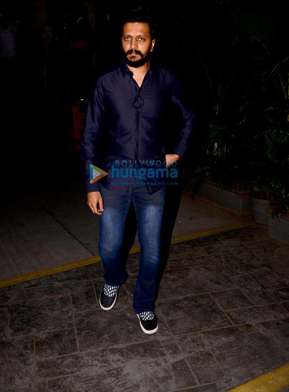 Riteish Deshmukh and other celebs snapped at Koko