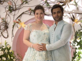 Sachiin Joshi and Urvashi Sharma's baby shower