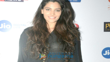 Saiyami Kher graces the screening of the Marathi film 'Chumbak'