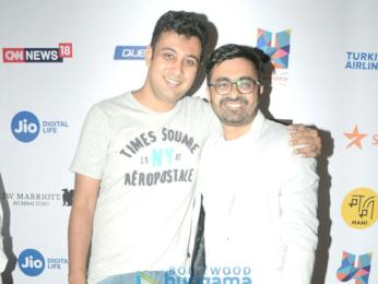 Saiyami Kher graces the screening of the Marathi film 'Chumbak'