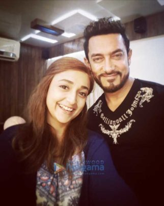 On The Sets Of The Movie Secret Superstar
