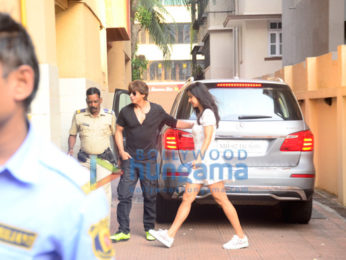Shah Rukh Khan and Katrina Kaif snapped at Bastian