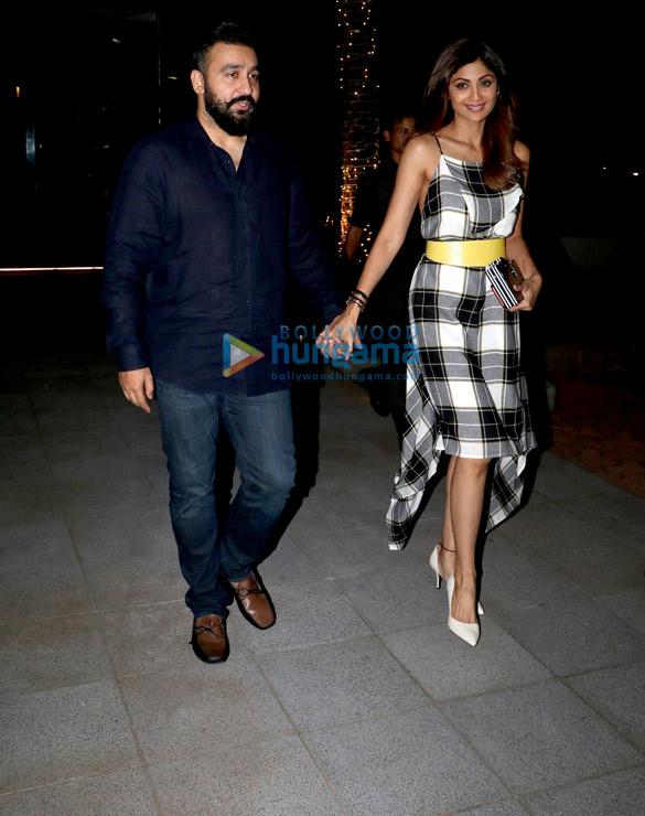 Shilpa Shetty and Raj Kundra spotted at Nara BKC