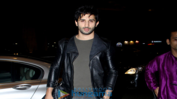 Sidhant Gupta snapped at the airport