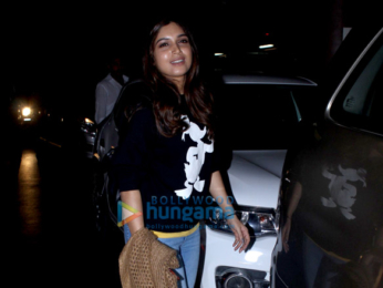 Sidharth Malhotra and Bhumi Pednekar snapped at the airport