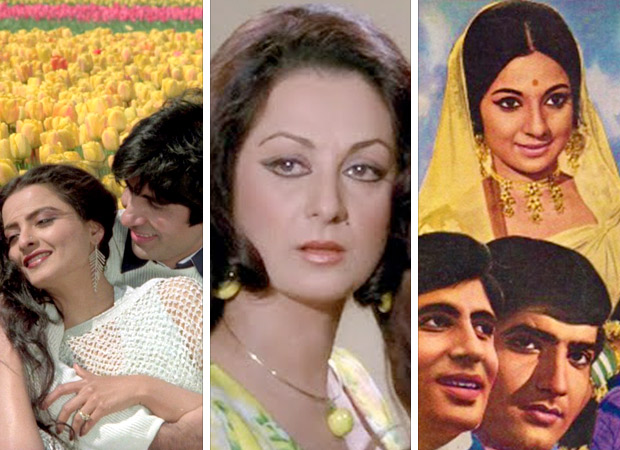 Six Generations of Amitabh Bachchan's Heroines From the '50s to the Millennium!2