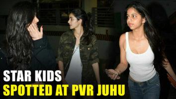 Star-Kids-Suhana-Khan-Ananya-Pandey-Shanaya-Kapoor-SPOTTED-At-PVR-Juhu