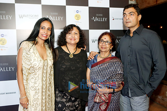 After party of 'The Valley' post the screening at 19th Mumbai Film Festival