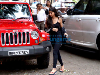 Suhana Khan spotted in Bandra