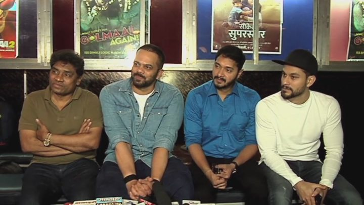 """With Is Happy Film  Golmaal Industry Entire """"The Again"""