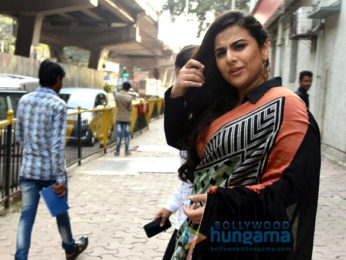 Vidya Balan snapped promoting 'Tumhari Sulu'