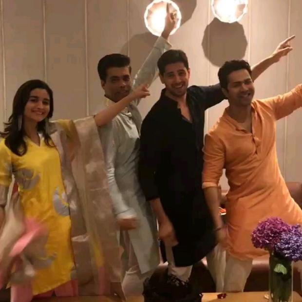 WATCH Alia Bhatt, Varun Dhawan, Sidharth Malhotra and Karan Johar celebrate 5 years of