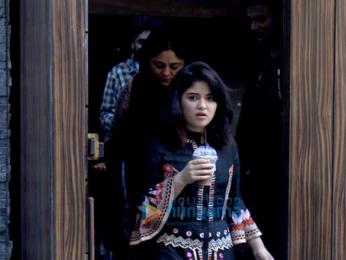 Zaira Wasim spotted at Aamir Khan's house for interviews
