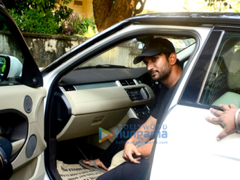 Sushant Singh Rajput snapped at Shankar Mahadevan's studio