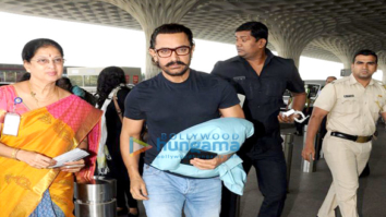 Aamir Khan, Ameesha Patel and others snapped at the airport