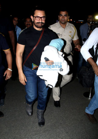 Aamir Khan, Rani Mukerji and others snapped at the airport